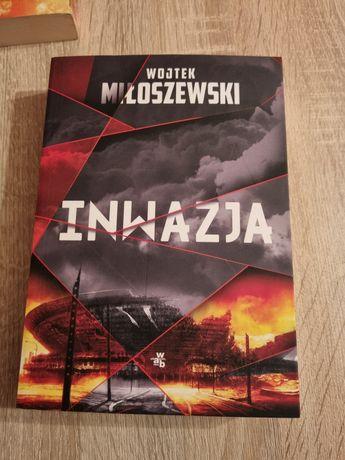 Inwazja W. Miłoszewski książka