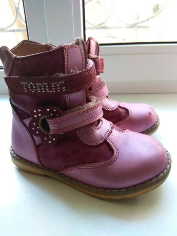 Продам ботинки для девочки 26р