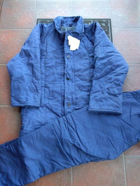 Komplety robocze spodnie bluza ocieplany zimowy nowy