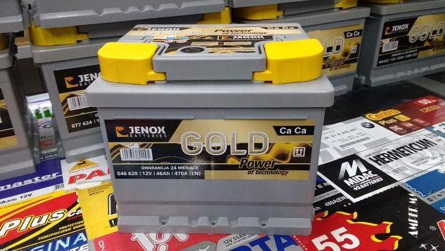 Akumulator Jenox Gold 46Ah 470A Kraków Azory Dowóz Montaż Diagnostyka