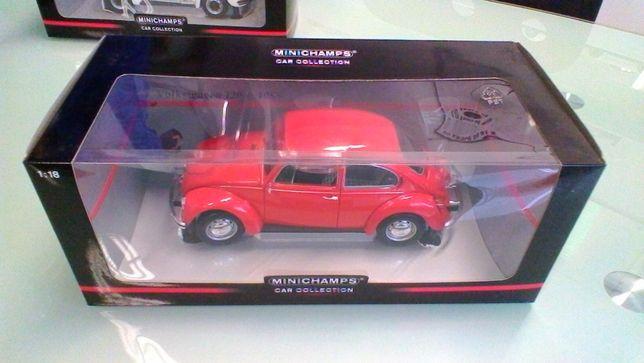 Volkswagen Beetle 'Carocha' 1983 da Minichamps Escala 1/18