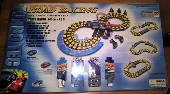 Настольная гоночная игра с машинками и трассой - Road Racing