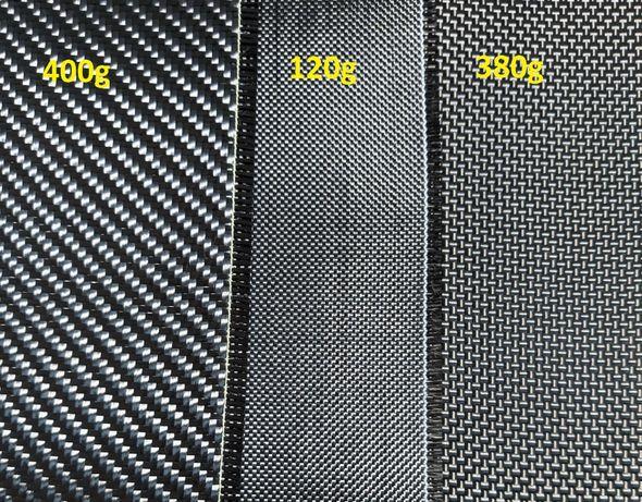 Carbon karbon włókno tkanina rowing węglowe 150cm szer. prawdziwe