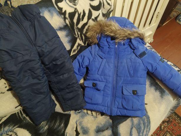 Зимний костюм(штаны+комбез).
