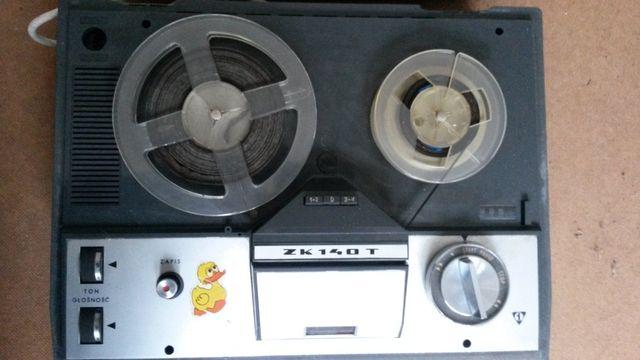 Unitra ZK140T magnetofon szpulowy