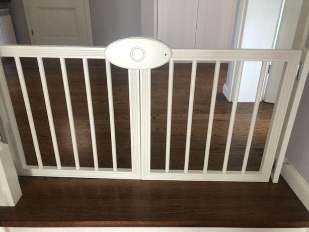 Bramka na schody - drewniana na wymiar