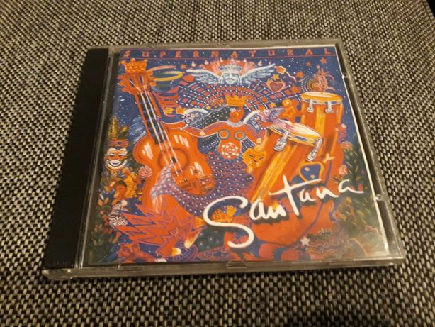 Carlos Santana Supernatural cd