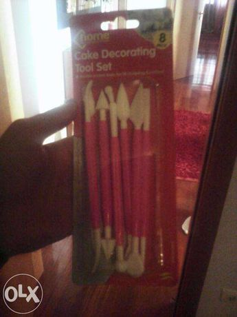 16 canetas de decoração bolos