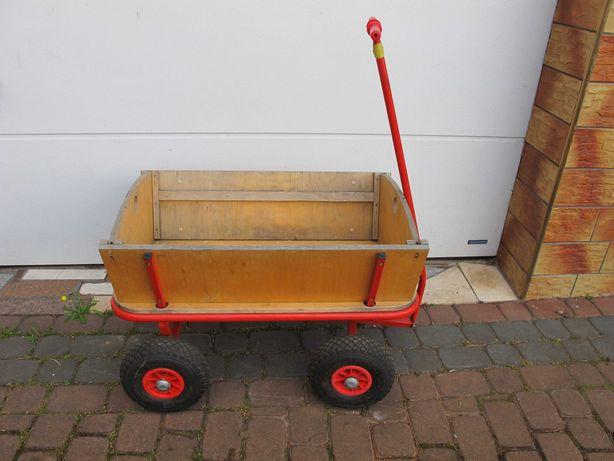 Fura wózek drewniany riksza