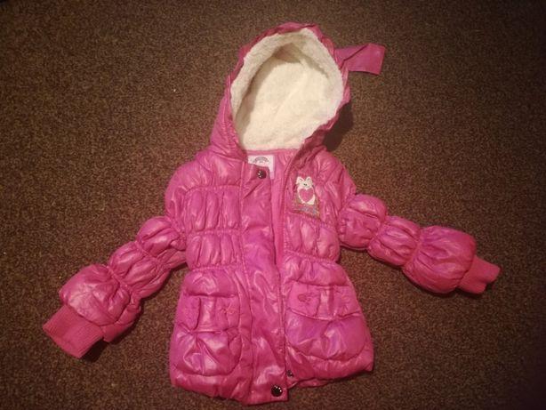 Sprzedam kurtkę zimową dla dziewczynki rozmiar 68