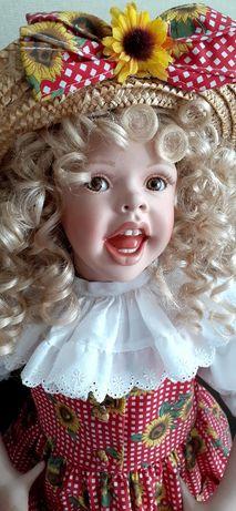 Коллекционная фарфоровая кукла от Сollееn Levitan.
