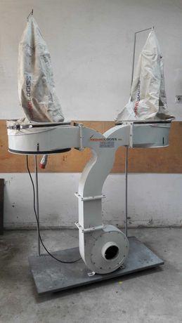 Odciąg TECHNOLOGISS, Φ 50cm, wys. 220cm, wyciąg do trocin stolarski