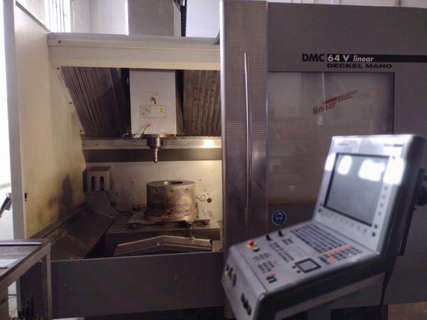 Centro de Maquinação - DMG - DMC64V Linear