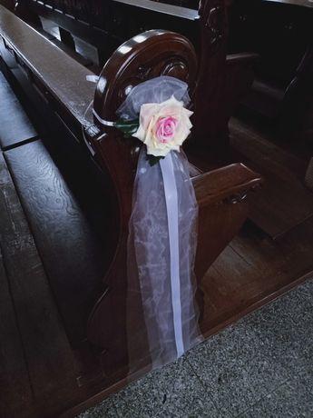 Ozdoby na ławki w kościele