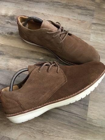 Замшевые туфли полуботинки дезерты Timberland р.44.5