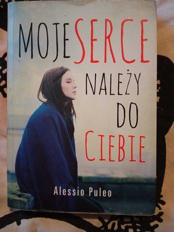"""Książka """" Moje serce należy do ciebie"""" Alessio Puleo"""