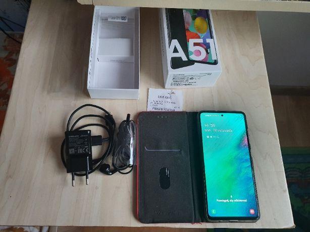 Samsung Smartfon Galaxy A51 Czarny 20 MSC GWARANCJA Szkło Etui Okazja!