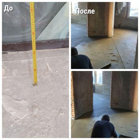 Стяжка пола. Выравнивание основания, подготовка в Одессе от 80 грн/м2