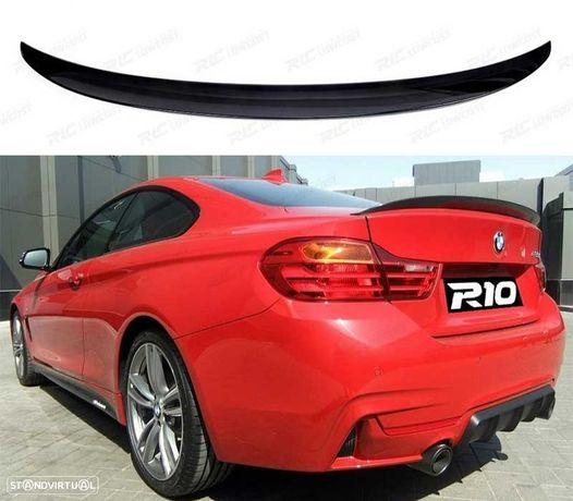AILERON LIP BMW SERIE 4 F32 LOOK M PERFORMANCE PRETO BRILHO