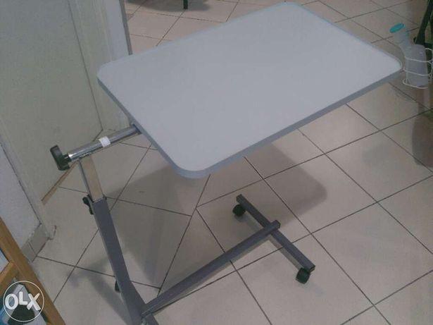 Mesa de apoio a refeições para camas articuladas