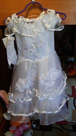 Продам нарядное детское платье для выпускного и утренников в садике