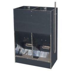 Automat karmnik tucznikowy 2-stanowiskowy na MOKRO