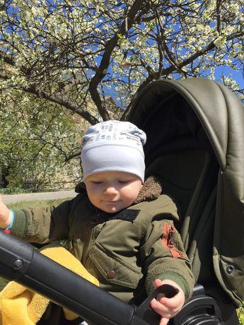 Демисезонная куртка Zara на мальчика 80 размер на годик