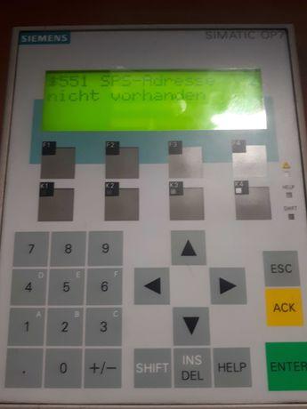 Siemens simatic op7 dp panel