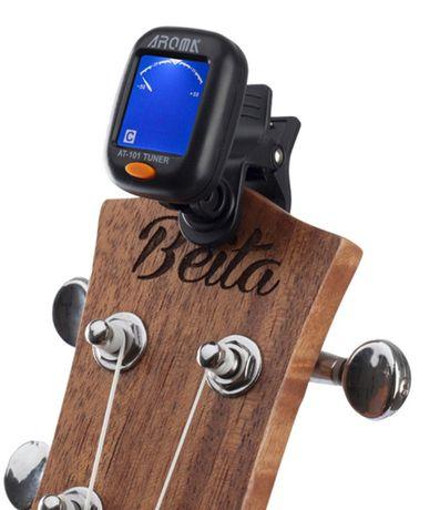 Afinador NOVO de guitarra eléctrica