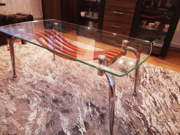 Ława szklana, stół