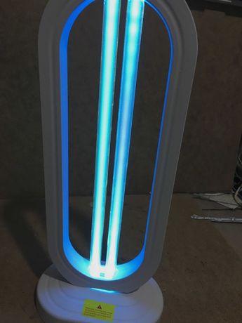 Озоновая УФ бактерицидная лампа с пультом Кварцевый светильник 38w