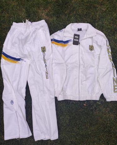 Костюм Europaw Украина полиестер мужской белый