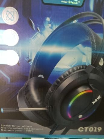Auscultadores gaming headset PS4 selado