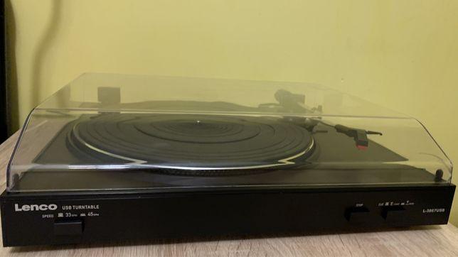 Gramofon Lenco L3867USB w stane BDB Nowa igła