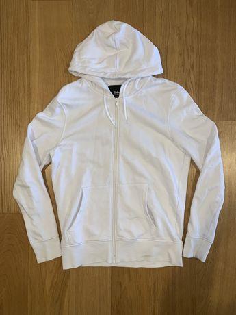 Rozpinana Bluza z kapturem C&A Biała S/M