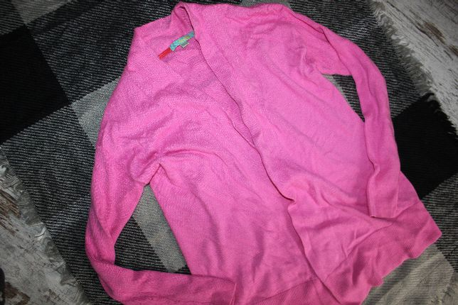 кардиган розовый накидка кофта xs-s