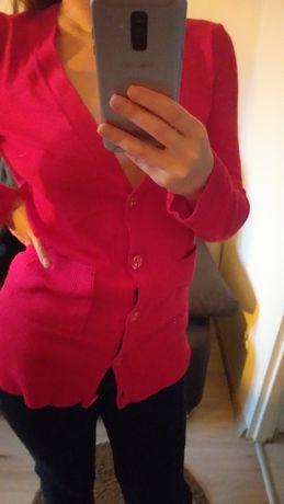 Sweterek czerwony S, M