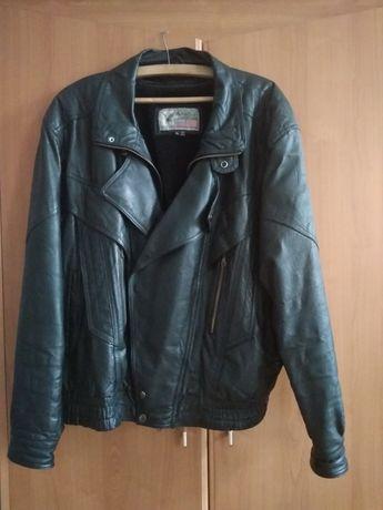 męska kurtka skórzana american leather xl