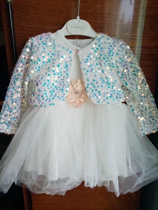 Детское платье на годик. Лубны - изображение 1