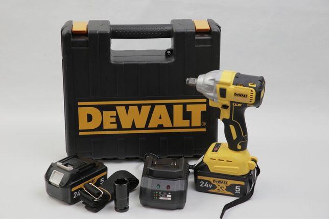 Аккумуляторный гайковерт Dewalt 20v 5.0a, безщеточный лучшая цена!
