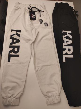 Spodnie Dresowe Karl Lagerfeld Nowość Outlet