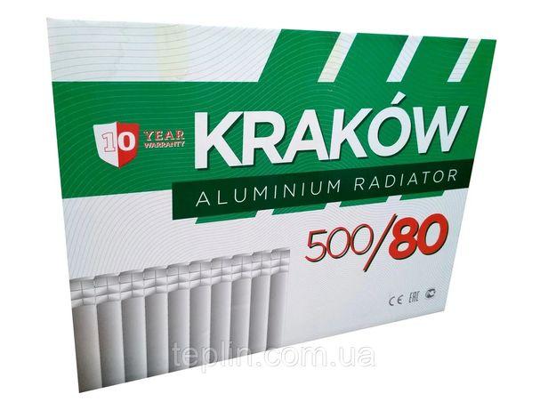 Krakow радиаторы алюминиевые
