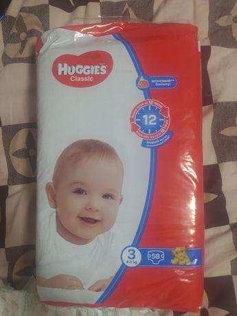 "подгузники ""Huggies"" classic  3"