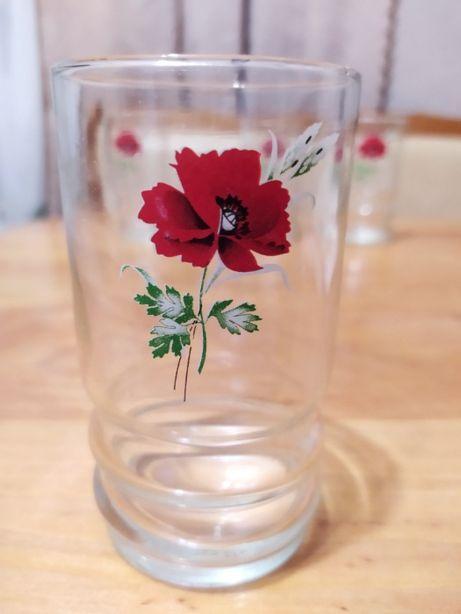 Набір стаканів із скла, 4 шт., ціна 35 грн.