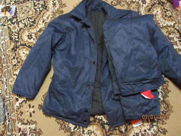 Зимний мужской рабочий костюм
