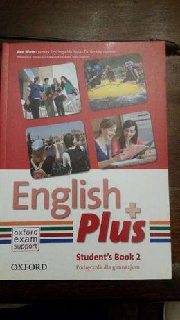 English plus 2 podręcznik.NOWY!