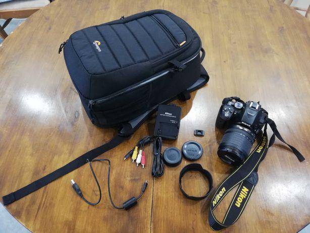 Lustrzanka Nikon D5300+obiektyw Nikkor 18-105mm-6126 liczba migawki