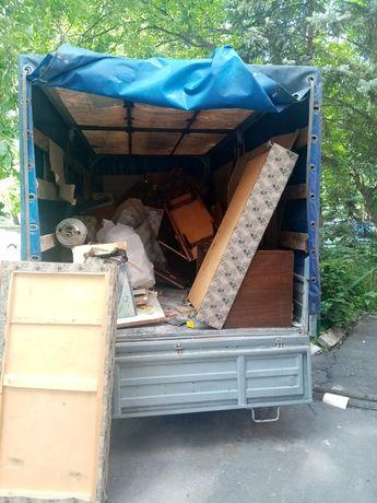 Вывоз старой мебели, строительного мусора, хлама