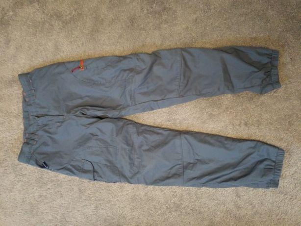 R. 152/158 treckingowe spodnie Quechua ocieplane