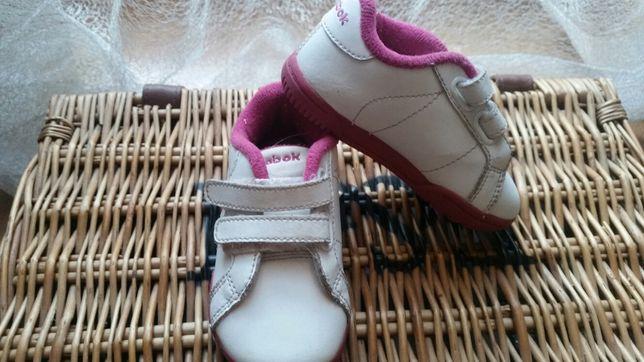 Adidasy Reebok biało- różower.21